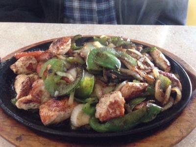 Chicken Fajitas - El Rosal Mexican Food Restaurant in Patterson CA