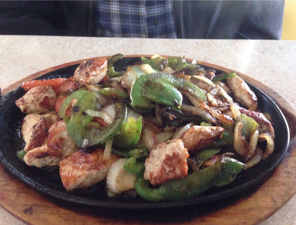 Chicken Fajitas - El Rosal Mexican Food Restaurant in Patterson CA