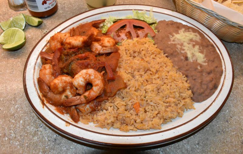 Camarones Rancheros - El Rosal Mexican Food