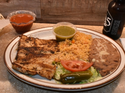 Chicken a la Plancha - El Rosal Mexican Food Restaurant in Patterson CA
