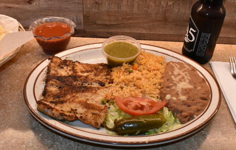 Chicken a la Plancha - El Rosal Mexican Food Restaurant in Patterson CA
