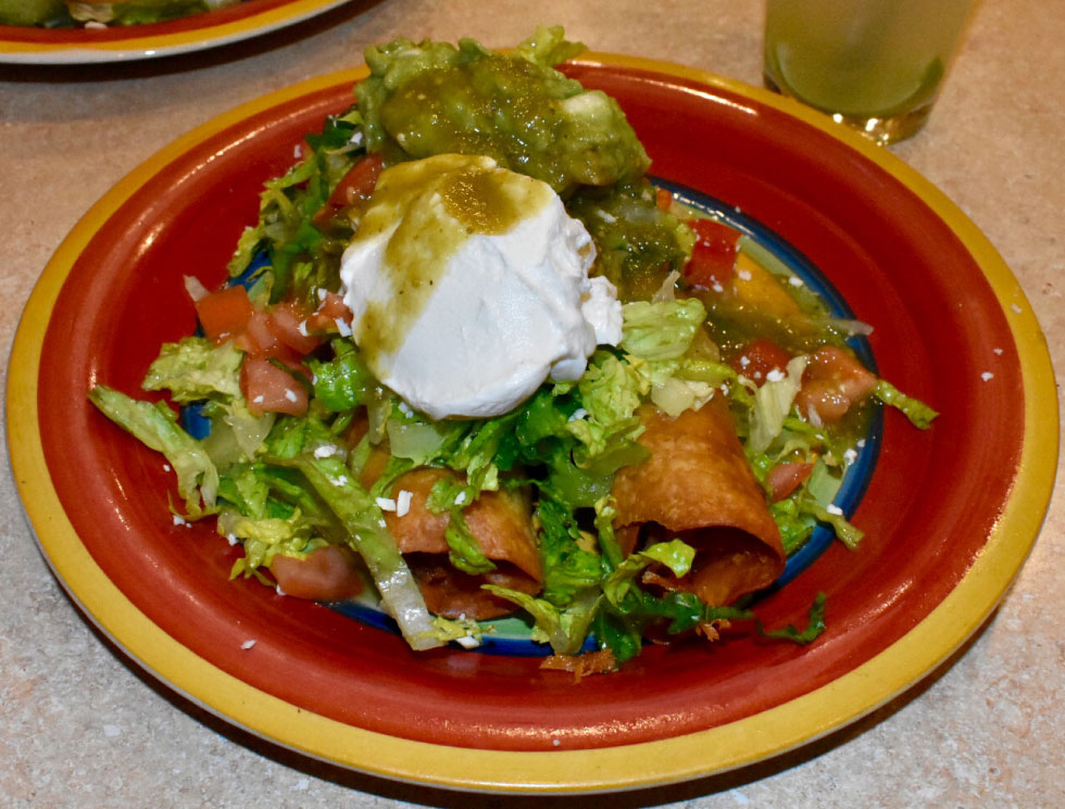 El Rosal Special at El Rosal, Mexican Restaurant in Patterson, CA