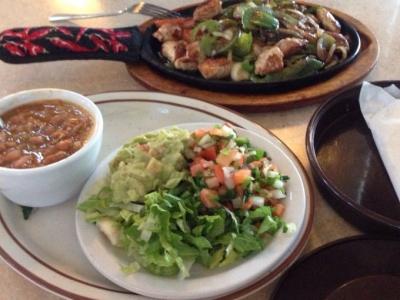 Fajitas - El Rosal Mexican Food Restaurant in Patterson CA