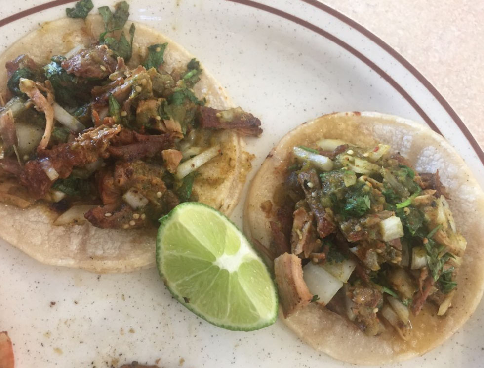 Tacos - Beef, Chicken, Pork - El Rosal Restaurant in Patterson, CA